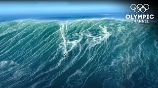 Are these the largest Waves ever surfed?  Nazare 2020 The Beast Awakens