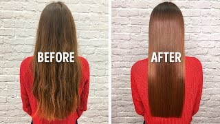 I Straightened My Hąir With 1 Easy Homemade Remedy