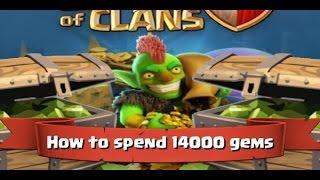 GemmOut #1 || Clash of Clans || 14.000Juwelen - Truppen Maxen :O