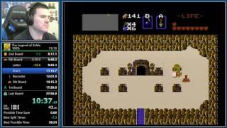 (36:31) Legend of Zelda 100% speedrun