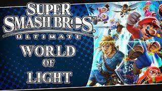 LIVE Super Smash Bros. Ultimate - World of Light (No Spirits)