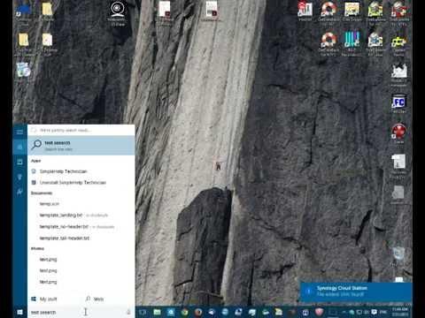 How to change Windows 10 Search to Google Search Engine | Cortana