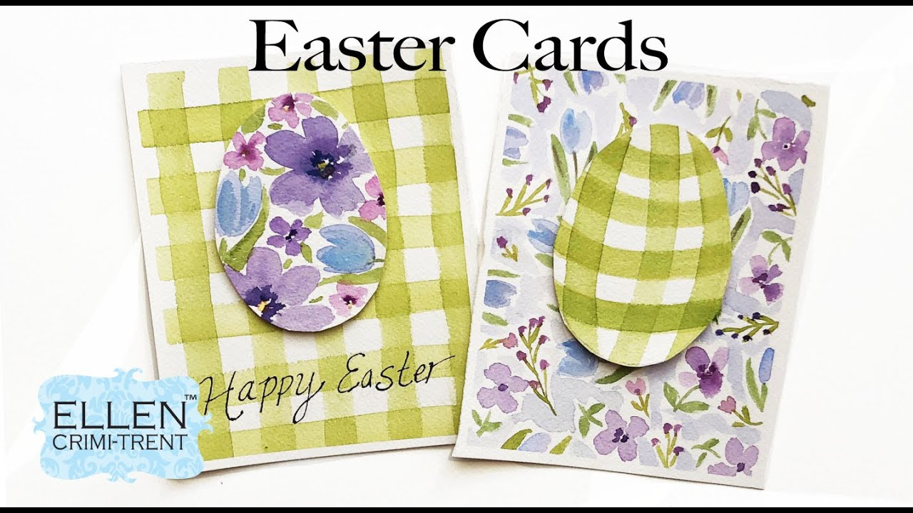 Easter Greeting Cards DIY