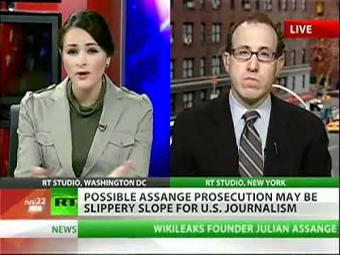 Committee to Protect Journalists Urges U.S. Not to Prosecute Julian Assange.flv