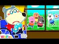 Wolfoo Got a Boo Boo and Can't Go Out to Play with Friends - Good Behavior for Kids | Wolfoo Channel