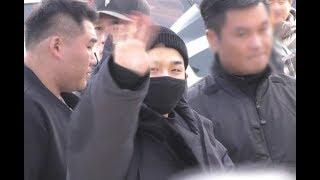 [S영상] #빅뱅 #BigBang #태양 #TAEYANG  '큰절에 씩씩한 모습', 민효린 내…