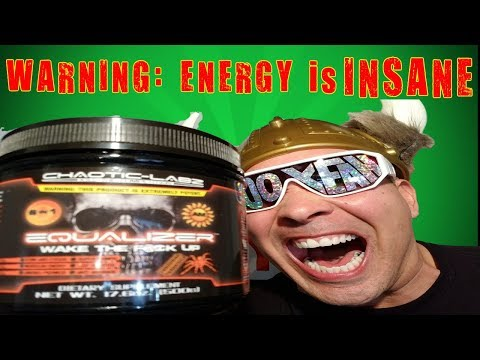 Chaotic Labz EQUALIZER  Pre Workout Review