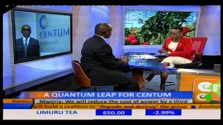 Business  Center: Interview with James Mworia - C.E.O., Centum