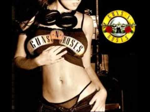 Guns n Roses Night Train backing track Eb/vocals