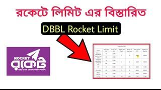 DBBL Rocket Limit Details |  রকেট একাউন্টের সকল লিমিট সম্পর্কে বিস্তারিত জানুন