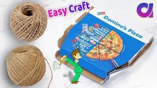 DIY Best easy Craft Idea/Best reuse of Waste jute Craft Idea | Handmade craft | Home Decor 2018
