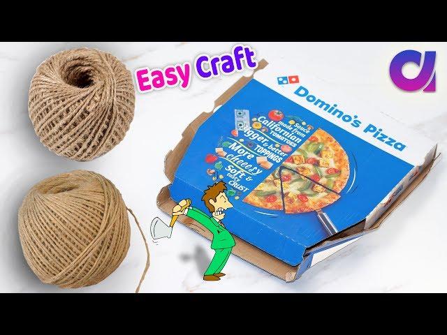 DIY Best easy Craft Idea/Best reuse of Waste jute Craft Idea   Handmade craft   Home Decor 2018