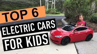 Best 6: Electric Cars For Kids 2019