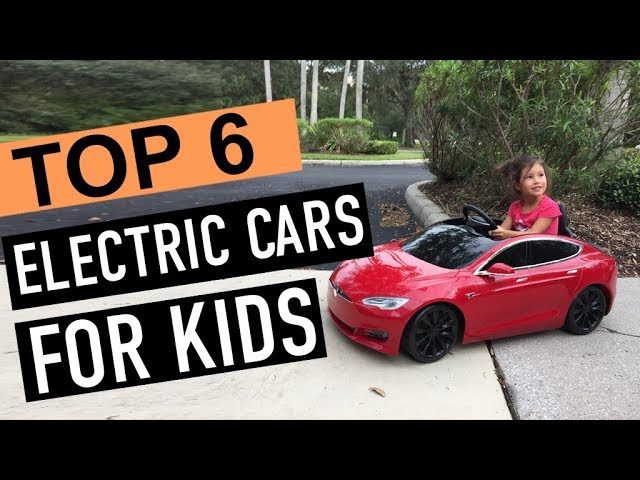 Best 6 Electric Cars For Kids 2019 Youtube
