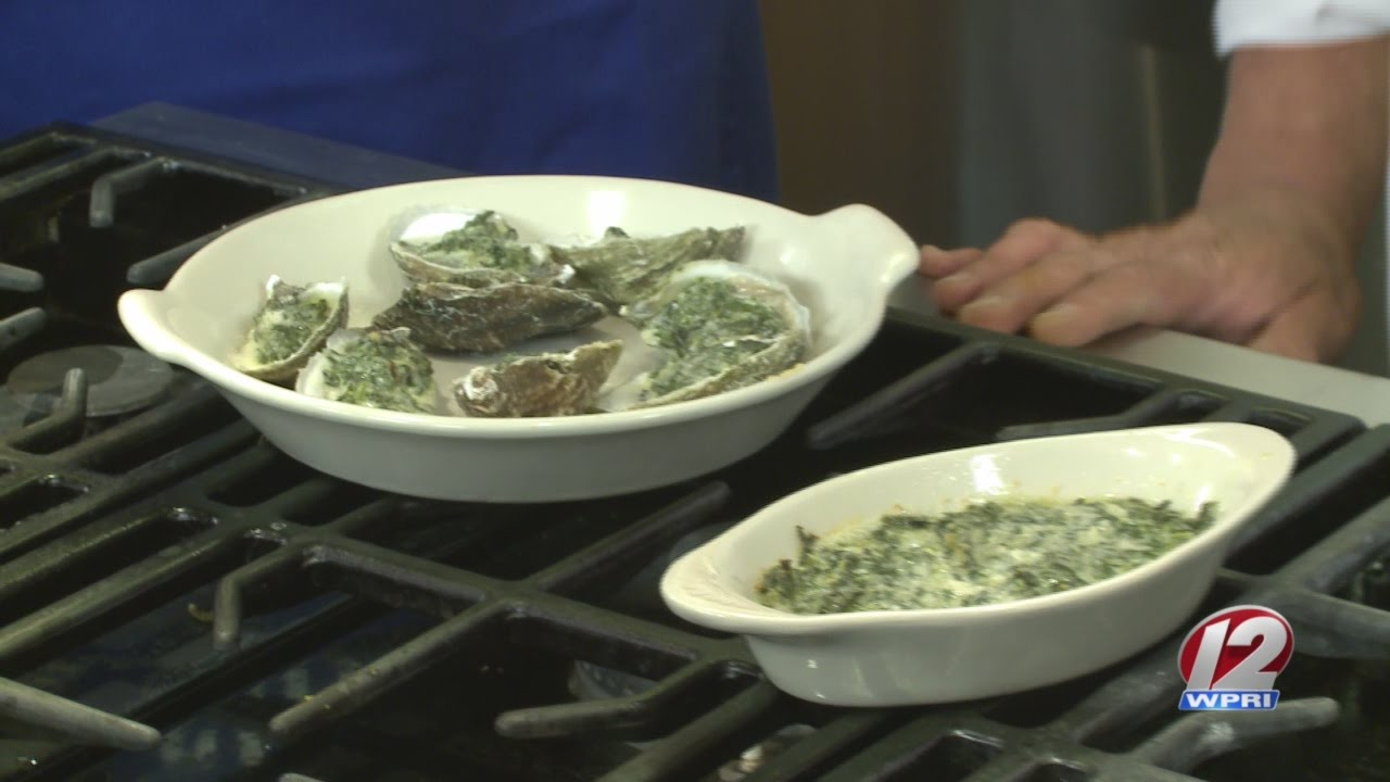 In the Kitchen: Baked Oysters with Spinach and Pernod