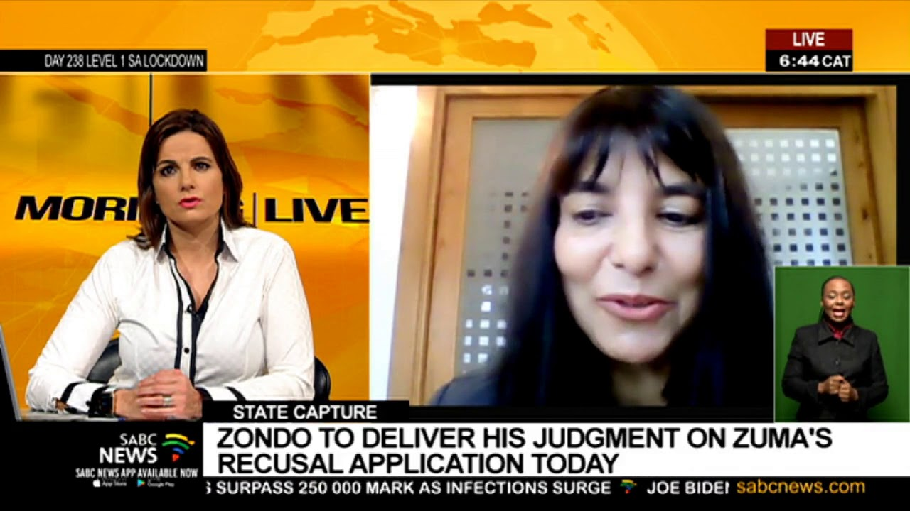 Download State Capture Inquiry | Zondo to deliver his judgment on Zuma's recusal application: Sharita Samuel
