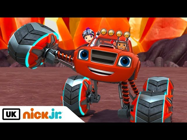 Blaze and the Monster Machines | Power Tyres! | Nick Jr. UK