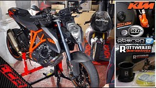 Super Duke MODS  | Crash Protection & Slaves