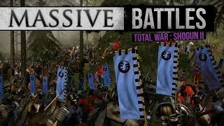 We kick it with some Shogun 2 online battles featuring both traditi...