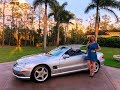 SOLD 2003 Mercedes Benz SL500 Sport, AMG Wheels, for sale by Autohaus of Naples 239-263-8500