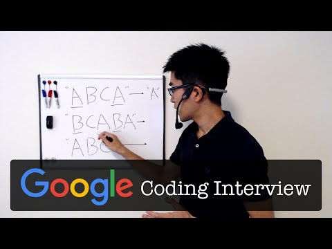 Google Coding Interview Question and Answer #1: First Recurring Character