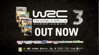 WRC 3 Launch Trailer - PS3/Xbox 360/PC/PS VITA - PQube Games
