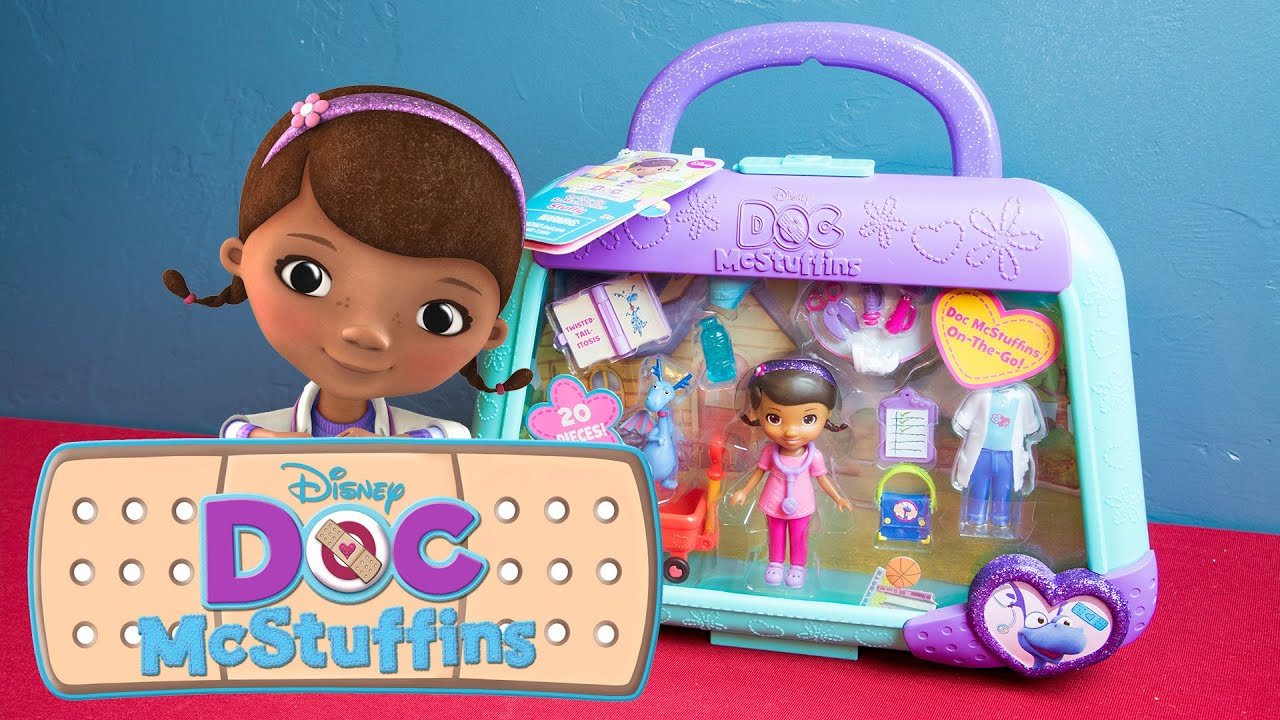 Doc Mcstuffins Toys : Doc mcstuffins toy on the go stuffy