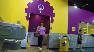 HIDDEN CAM: Cross-Dressing At Planet Fitness!
