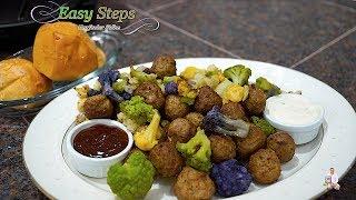 Tasty, Delicious Oil-Free Meatballs and Cauliflower Recipe | Cooking Frozen Meatballs & Cauliflower