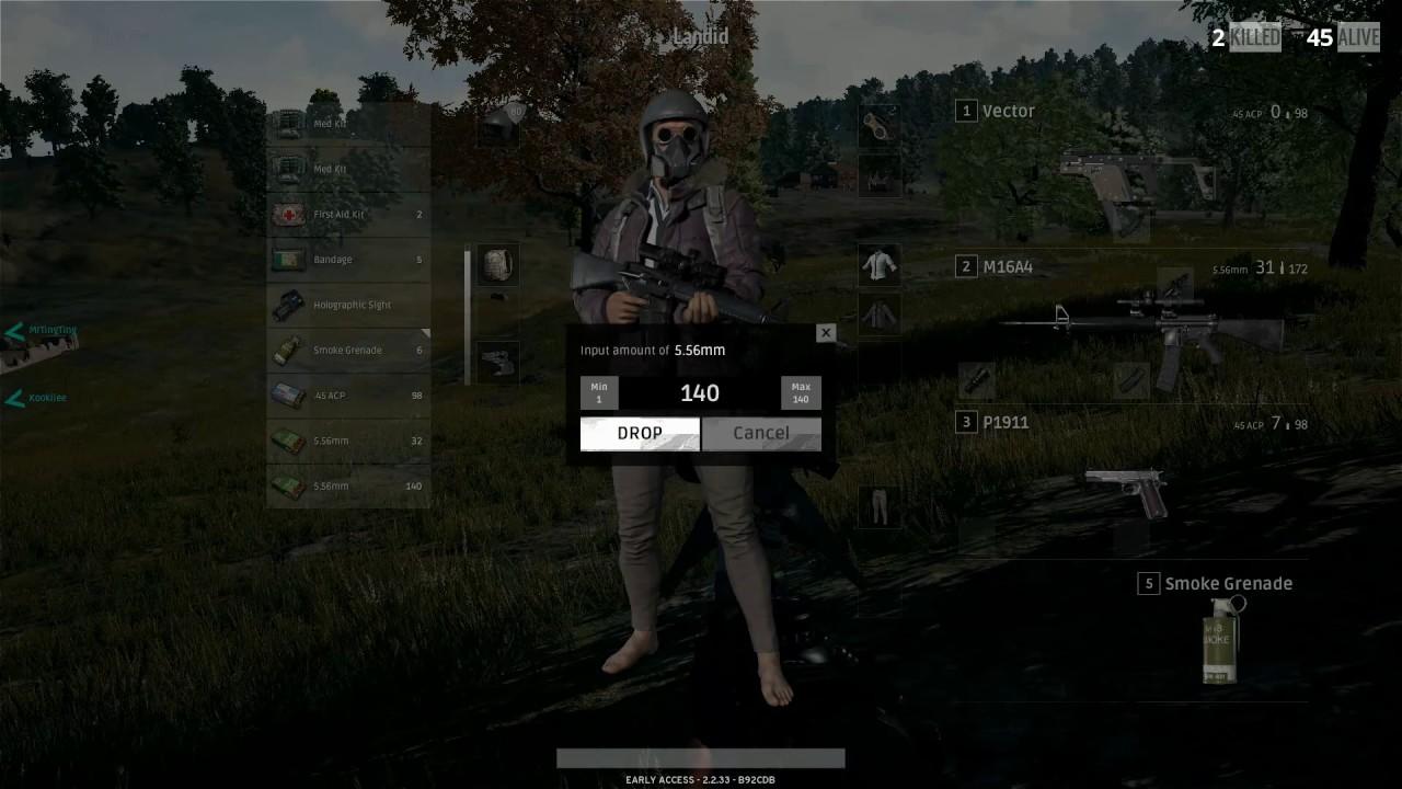 PUBG Triple Kill M16 Sniping