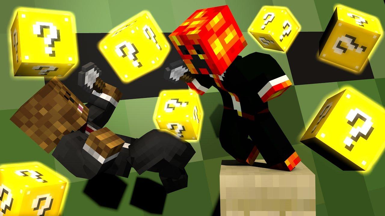 Minecraft Modded Minigame Epic Lucky Block Spleef W