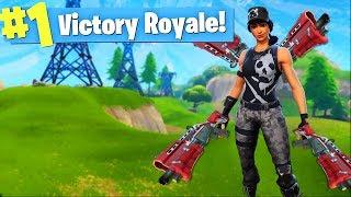 TACTICAL SHOTGUN ONLY CHALLENGE! (Fortnite Battle Royale)
