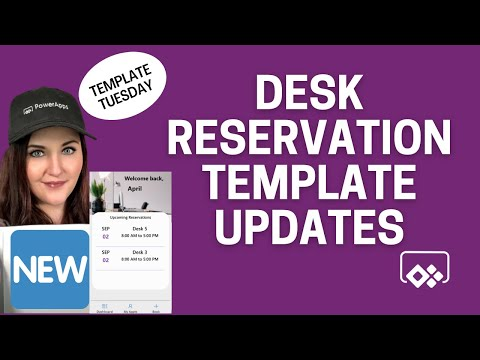 Desk Reservation Power App Enhancements