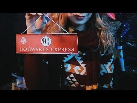 Смотреть Мир Гарри Поттера (украшаем к новому году) DIY