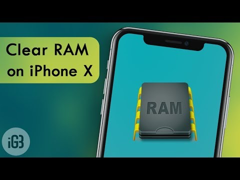How To Clear iPhone X, XS or XS Max RAM Memory on iOS 12 or 11