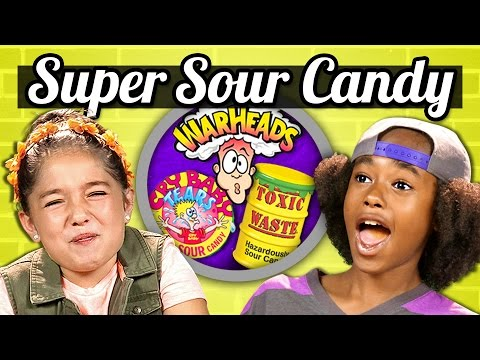 Thumbnail: KIDS vs. FOOD - SOUR CANDY CHALLENGE