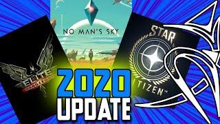 Elite Dangerous VS No man's sky VS Star Citizen (2020 update)