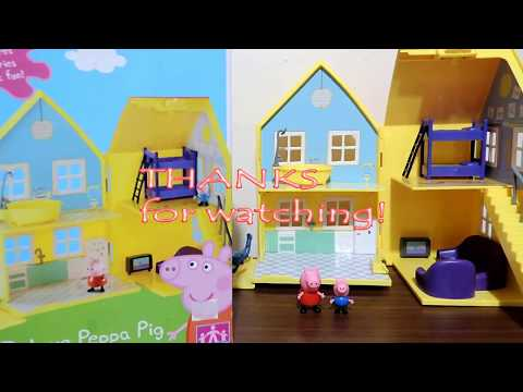 Peppa Pig Playhouse Deluxe Set (UNBOXING)