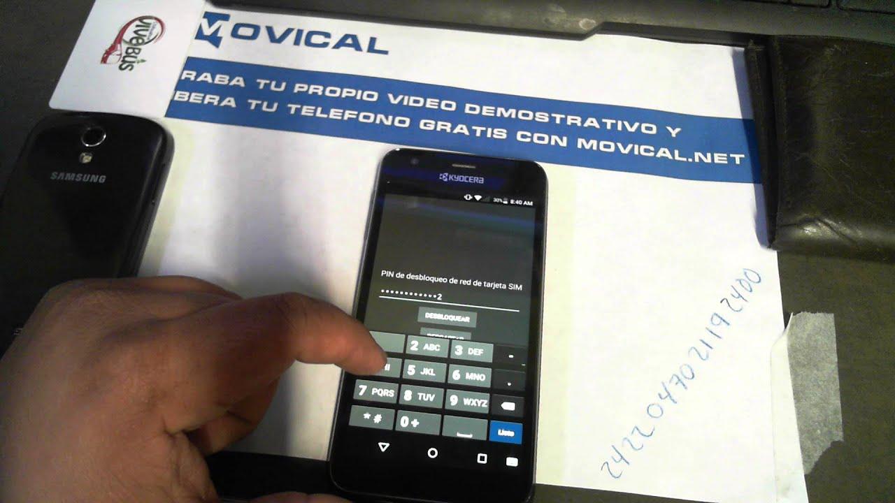 Desbloquear kyocera hydro air liberar c6745 de at t en - Movical net liberar ...