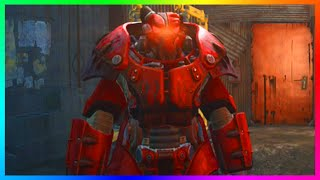Fallout 4 BEST RAREST Suit Of Power Armor - Full X-01 Power Armor Suit Location Fallout 4