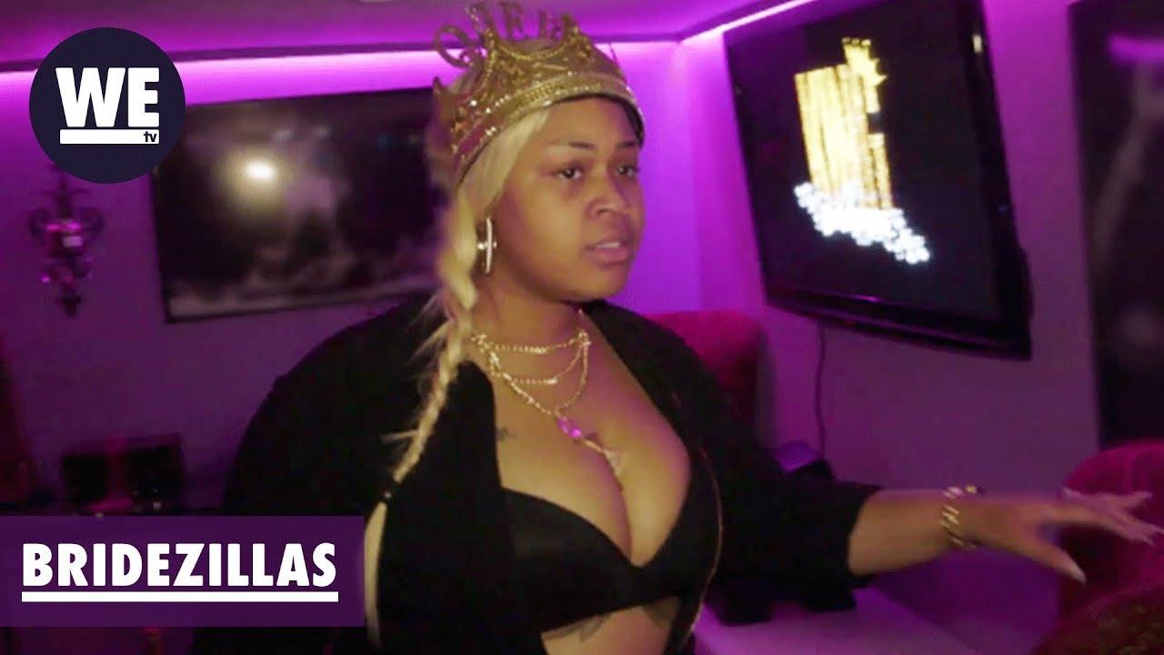 'Taylor Crashes Bachelor Party at Strip Club' Sneak Peek | Bridezillas | WE tv