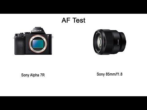 AF-Test (Sony A7R + Sony 85mm/f1.8)