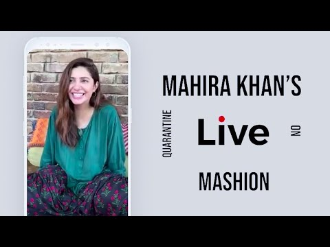 Mahira Khan Answers Funny Fan Questions In Quarantine   Mashion