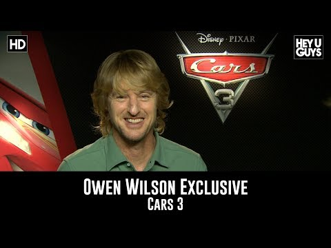 Owen Wilson Exclusive - Cars 3 Movie Interview