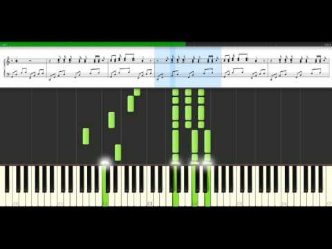 Damien Rice - 9 Crimes [Piano Tutorial] Synthesia