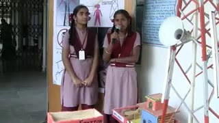 Manchi School - Science project - Cell Tower