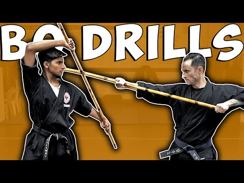 EASY to learn Bo Staff Drills