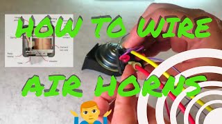 How To Wire Up & Install Your Air Horn Kit