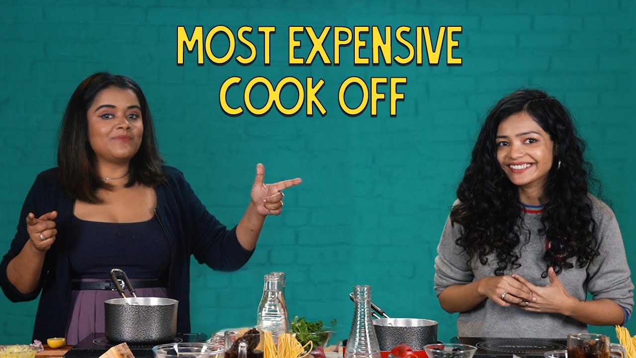 Most Expensive Cook Off | Ok Tested
