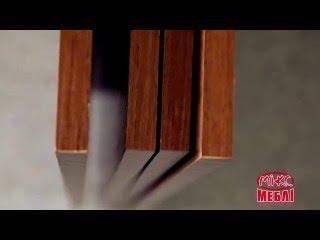 видео Стол-книжка гостевой с полками
